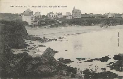 """/ CPA FRANCE 29 """"Le Pouldu, les grands sables"""""""
