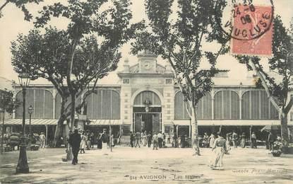 """/ CPA FRANCE 84 """"Avignon, les Halles """""""