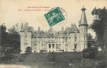 "/ CPA FRANCE 64 ""Saliès de Béarn, hôtel"""