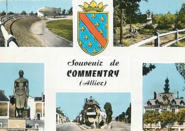 """/ CPSM FRANCE 03 """"Souvenir  de Commentry"""""""