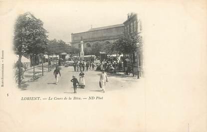 """/ CPA FRANCE 56 """" Lorient, le cours de la Bôve"""""""