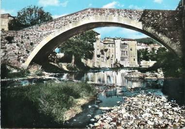 """/ CPSM FRANCE 34 """"Lodève, vieux pont sur la Soulondre"""""""