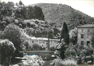 """/ CPSM FRANCE 34 """"Lunas, rivière à truites du Gravezan"""""""
