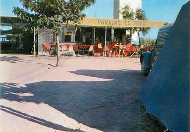 """/ CPSM FRANCE 34 """"Marseillan plage, parking caravaning Le Rieu"""""""