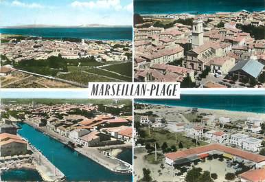 "/ CPSM FRANCE 34 ""Marseillan plage """