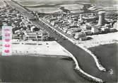 """34 Herault / CPSM FRANCE 34  """"Palavas les Flots, vue générale aérienne sur le centre de la ville"""""""
