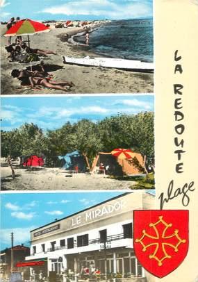 """/ CPSM FRANCE 34 """"La Redoute plage"""""""