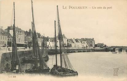 """/ CPA FRANCE 44 """"Le Pouligen, un coin du port"""""""