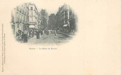 """/ CPA FRANCE 44 """"Nantes, la route de Rennes"""""""