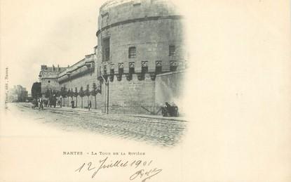 """/ CPA FRANCE 44 """" Nantes, la tour de la rivière"""""""
