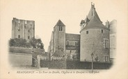"45 Loiret / CPA FRANCE 45 ""Beaugency, la tour du diable, l'église et le donjon"""