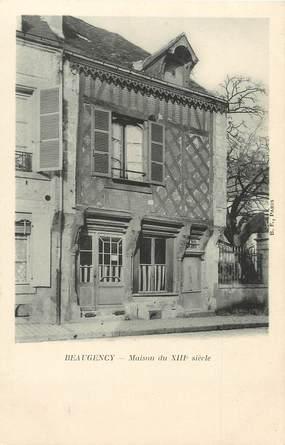 "/ CPA FRANCE 45 ""Beaugency, maison du XIIIè siècle"""