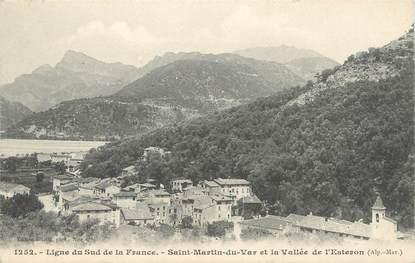 """/ CPA FRANCE 06 """"Saint Martin du Var et la vallée de l'Esteron """""""