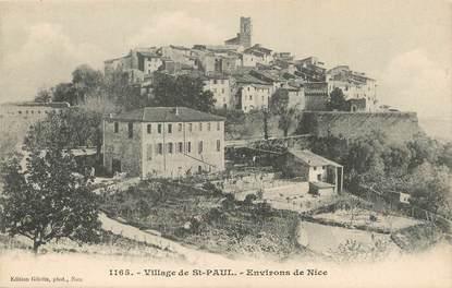 """/ CPA FRANCE 06 """"Village de Saint Paul, environs de Nice"""""""