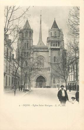 "/ CPA FRANCE 21 ""Dijon, église Saint Bénigne"""