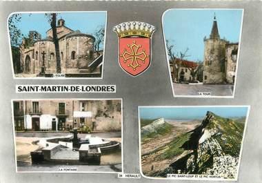 """/ CPSM FRANCE 34 """"Saint Martin de Londres """""""
