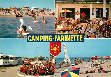 "/ CPSM FRANCE 34 ""Vias sur Mer"" / CAMPING"