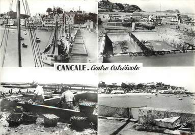 """/ CPSM FRANCE 35 """"Cancale, centre ostreicole"""""""