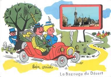 """/ CPSM FRANCE 35 """"La Bazouge du Désert"""""""