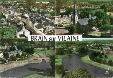 """/ CPSM FRANCE 35 """"Brain sur Vilaine """""""