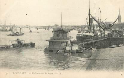 """/ CPA FRANCE 33 """"Bordeaux, embarcadère de Royan"""""""