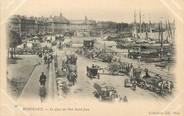 """33 Gironde / CPA FRANCE 33 """" Bordeaux, le quai du port Saint Jean"""""""