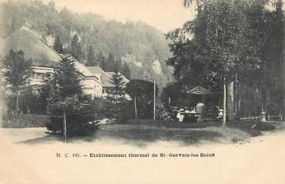 """/ CPA FRANCE 74 """"Etablissement Thermal de Saint Gervais les Bains"""""""