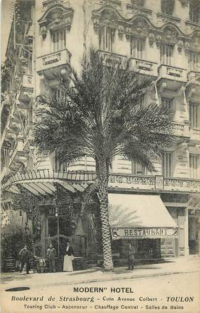 "CPA FRANCE 83 ""Toulon, Modern'Hotel"""