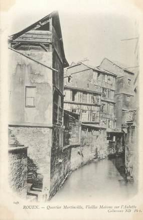 "/ CPA FRANCE 76 ""Rouen, quartier martinville"""