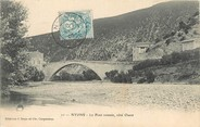 "26 DrÔme / CPA FRANCE 26 ""Nyons, le pont Romain"""