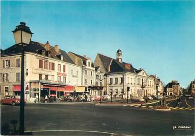 """/ CPSM FRANCE 36 """"Le Blanc, place de la libération"""""""