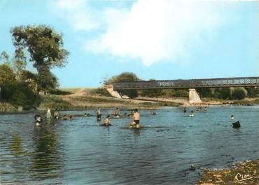 """/ CPSM FRANCE 36 """"Chabris, pont sur le Cher"""""""