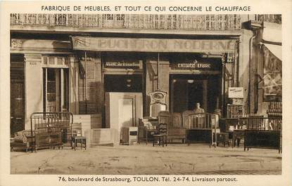 "CPA FRANCE 83 ""Toulon, Fabrique de Meubles"""