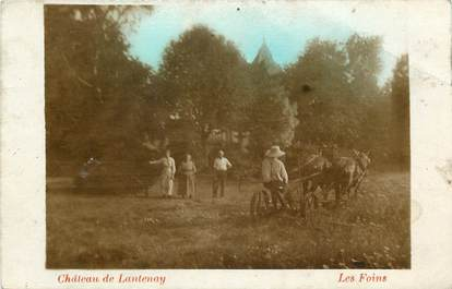"CARTE PHOTO FRANCE 21 ""Château de Lantenay, la moisson"""