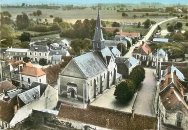 """/ CPSM FRANCE 36 """"Saint Christophe en Bazelle, l'église"""""""