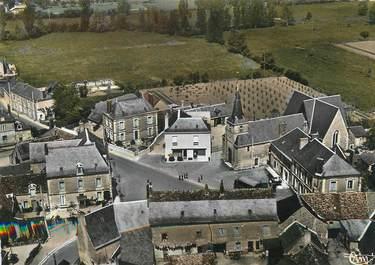 """/ CPSM FRANCE 37 'Ambillou, l'église et la place"""""""