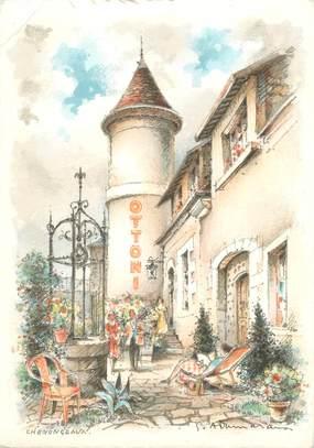"""/ CPSM FRANCE 37 'Chenonceaux, hôtel Ottoni"""""""