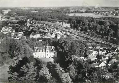 """/ CPSM FRANCE 37 'Chisseaux, vue aérienne, le château"""""""