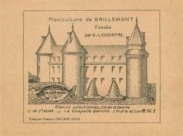 """/ CPSM FRANCE 37 'La Chapelle Blanche, pisciculture de Grillemont"""""""