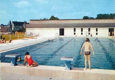 "/ CPSM FRANCE 37 ""Genillé, la piscine"""