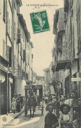 """CPA FRANCE 13 """"La Ciotat, la Rue Ganteaume"""""""