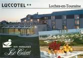 """37 Indre Et Loire / CPSM FRANCE 37 """"Loches, hôtel Luccotel"""""""