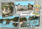 "37 Indre Et Loire / CPSM FRANCE 37 ""Montbazon"""