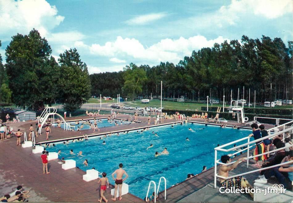 Cpsm france 37 amboise l 39 ile d 39 or la piscine et le for Camping amboise avec piscine