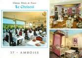 """37 Indre Et Loire / CPSM FRANCE 37 """"Amboise, château Hôtels de France Le Choiseul"""""""