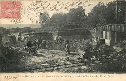 """CPA FRANCE 71 """"Montceau les Mines, Carrière"""""""