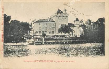 """/ CPA FRANCE 74 """"Environs d'Evian Les Bains, château de Blonay"""""""
