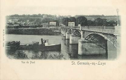 "/ CPA FRANCE 78 ""Saint Germain en Laye, le pont"""