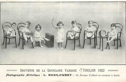 """CPA FRANCE 83 """"Toulon, Souvenir de la Quinzaine Varoise, 1922"""""""