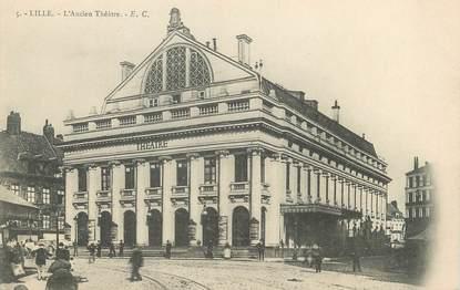 """/ CPA FRANCE 59 """"Lille, l'ancien théâtre"""""""